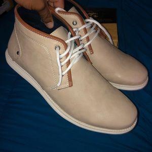 Sedagatti Men's Apricot Chukka Boots Size: 13